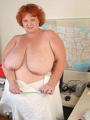 Fat mature redhead nude